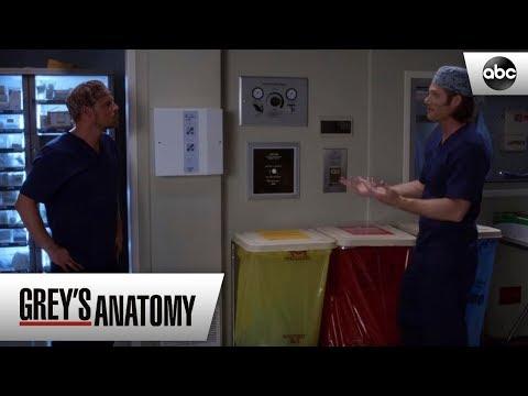 Alex and Link Reconcile - Grey's Anatomy Season 15 Episode 5