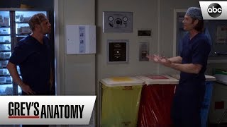 Alex and Link Reconcile - Grey's Anatomy Season 15 Episode 5