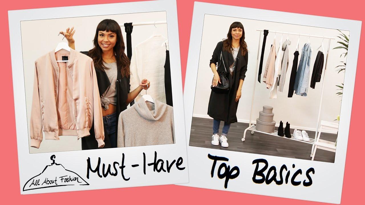Fashion Basics Must Haves Fur Den Kleiderschrank Youtube