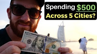Spending $500 Across 5 Cities? What Can You Get?
