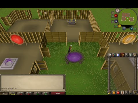 OSRS - How To Setup Your Construction House Properly (Altar, Glory, Teleport Rooms)