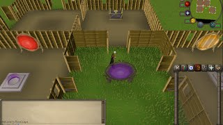 Osrs   How To Setup Your Construction House Properly (altar, Glory, Teleport Rooms)