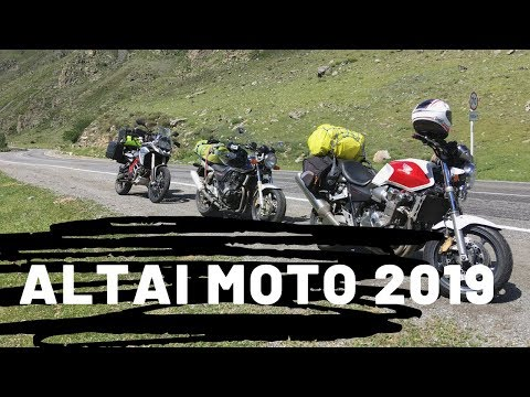 ГОРНЫЙ АЛТАЙ на мотоциклах. BMW GS 800,HONDA CB 1300,Honda CB 400