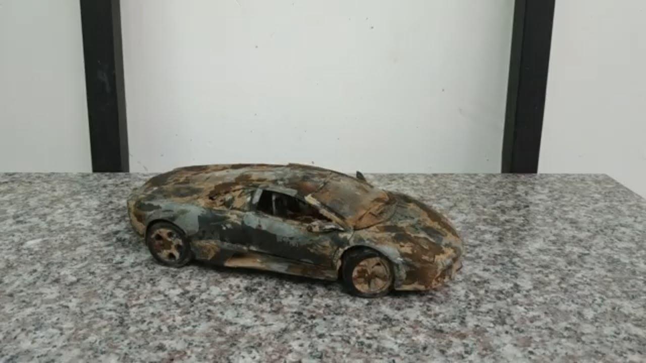 Download Restoration Abandoned Lamborghini Model Car