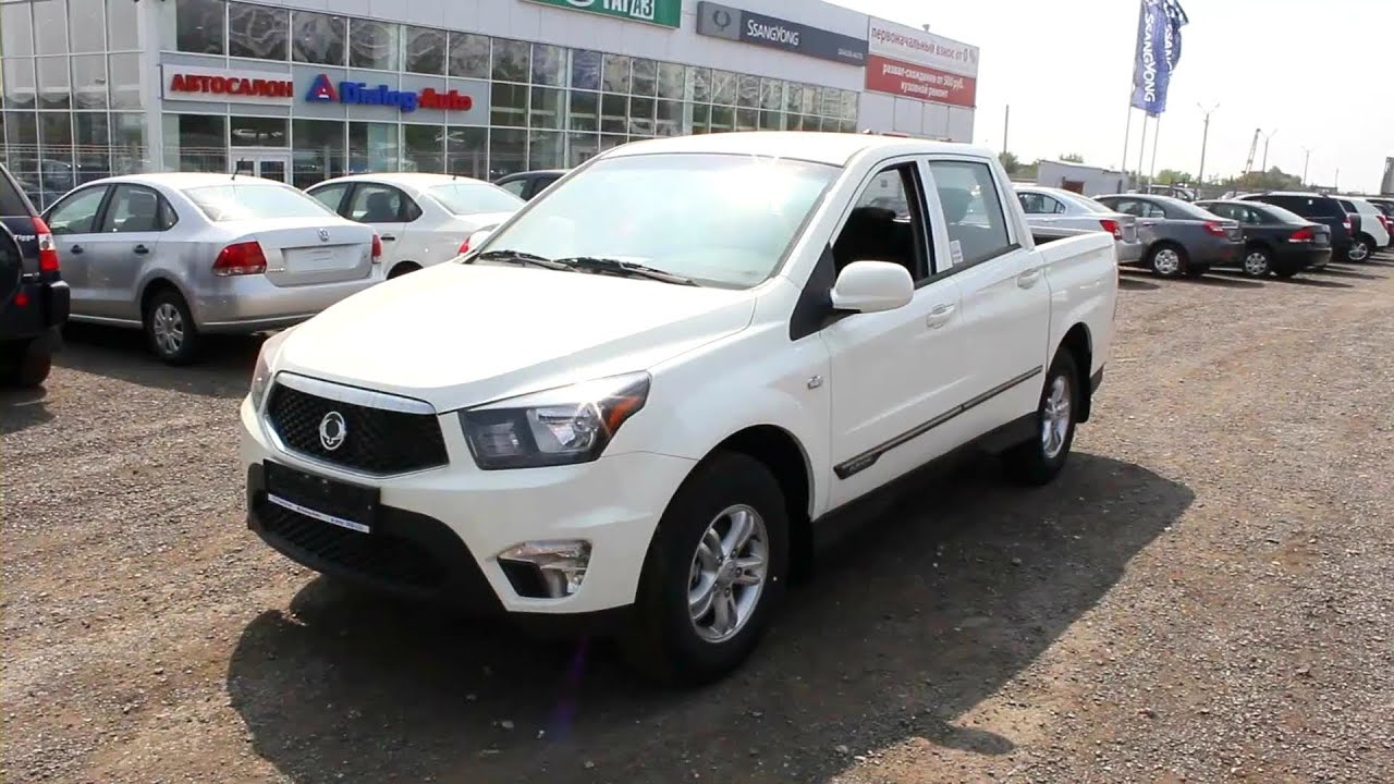 2013 ssangyong actyon sports start up engine and in depth tour youtube. Black Bedroom Furniture Sets. Home Design Ideas