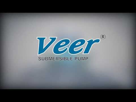 Veer Submersible Pump Logo Animation