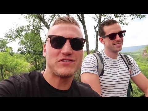 DOOD ENGE BUNGEE JUMP ZUID-AFRIKA! - KAJ'S TYPETJES VLOG 61