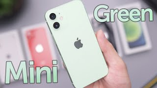 Green iPhone 12 Mini Unboxing & First Impressions!