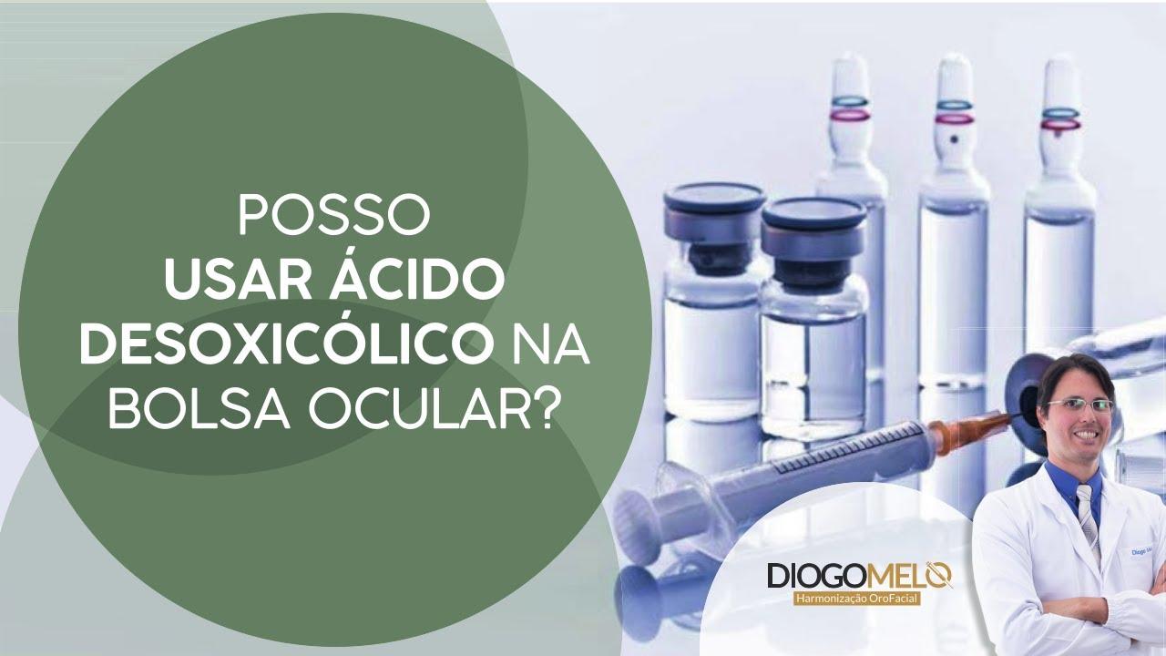 Posso usar ácido desoxicólico na região