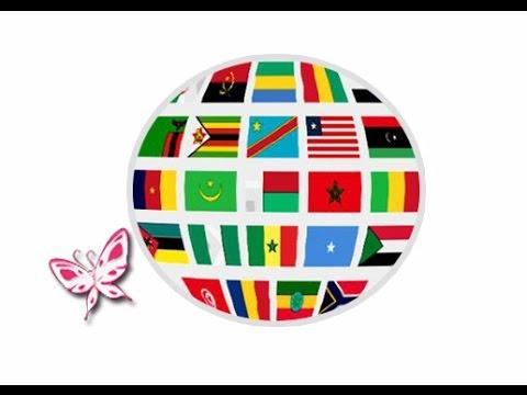 Флаги стран Африки. Карточки Домана. Развиваем ребенка с рождения