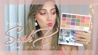 Download R E S E Ñ A : Probando la Paleta SophX - Make Up Revolution