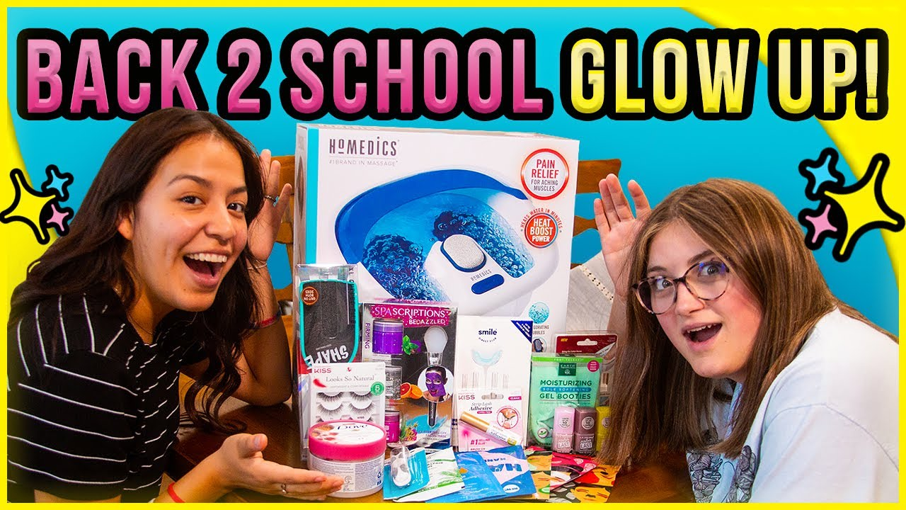 Back To School!  | GLOW UP! | New Giveaway! | Backpack Winner!
