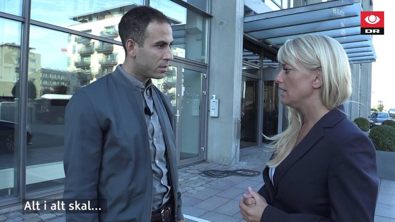 Pernille Vermund fra Nye Borgerlige vil hverken svare ja eller nej på en række spørgsmål