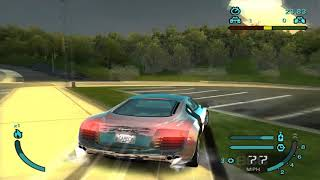 Need for Speed Carbon: Map Port From Undercover (PS2)