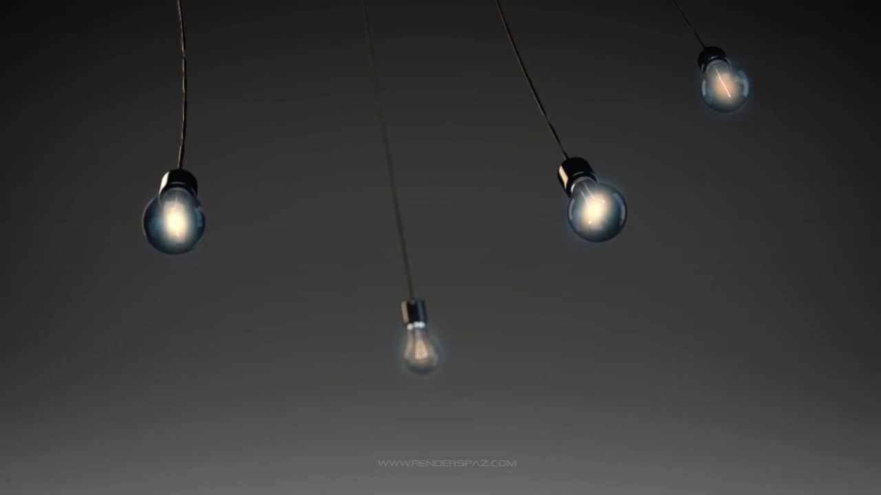 Animated Wallpaper - Dreamscene Swinging Light Bulbs - YouTube for Flashing Light Bulb Gif  279cpg
