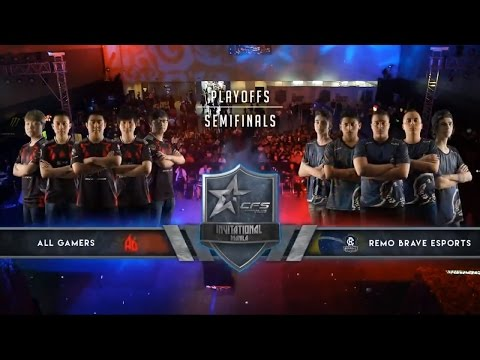 Semi Final AG vs REMO BRAVE Game2 Port - Crossfire Stars Invitational Manila Day 2