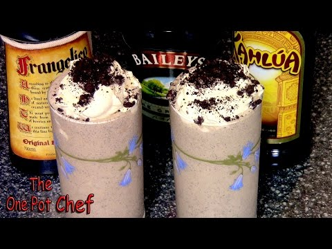 Cookies And Cream Cocktail | One Pot Chef