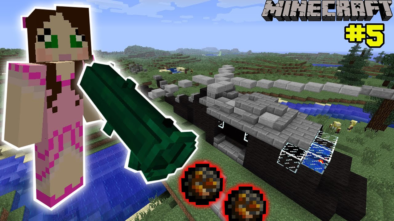 Minecraft insane bazooka mission the crafting dead 5 for Crafting dead mod download