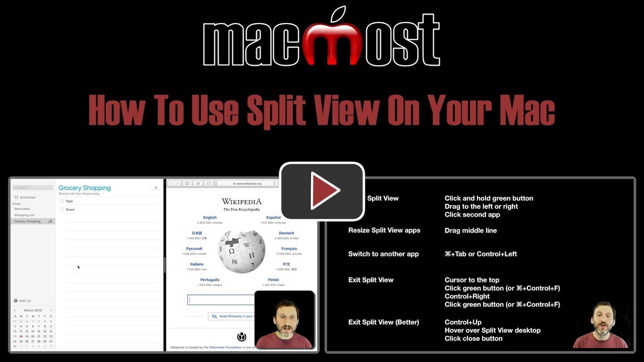 How To Use Split View On Your Mac