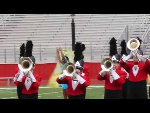 Biloxi High School band performs at Gulf Coast Invitational