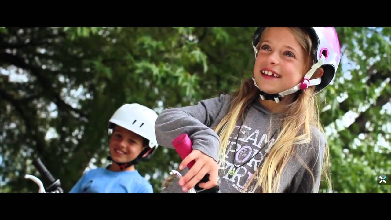 [迪卡儂] BTWIN 自行車運動品牌 20吋兒童自行車 - YouTube