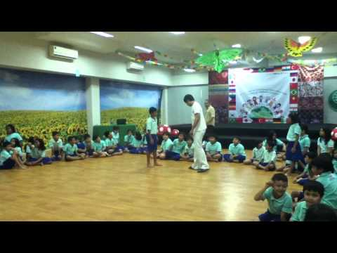 Capoeira Indonesia Jakarta kids intro class by VIVA BRAZIL