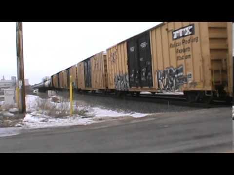 Railfanning Fond du Lac, WI Part 1 3-7-15