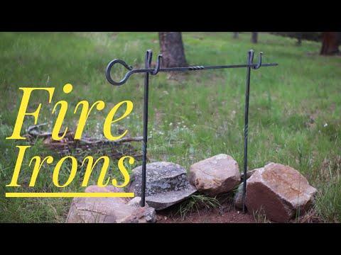 Fire Irons - Campfire Cooking Pot Hanger