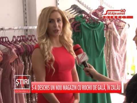 S A Deschis Un Nou Magazin Cu Rochii De Gala In Zalau Youtube