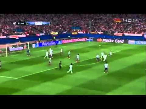 All Saves Jan Oblak vs Real Madrid 14/4/2015