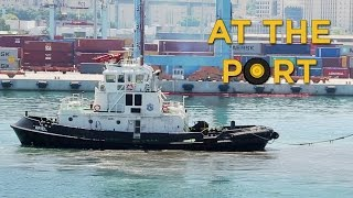 Ships and Boats in Action at the Port | Videos For Children | 🚚 Toys for Boys
