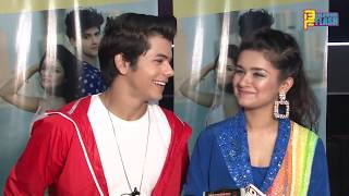 Siddharth Nigam Sweet Surprise For Avneet Kaur Tarse Ye Naina Song Launch