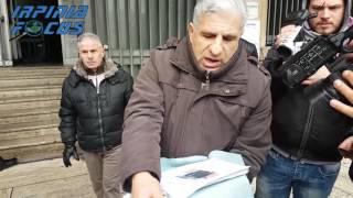 Elital, i lavoratori in presidio davanti al Tribunale di Avellino