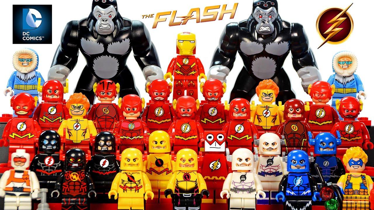 My Lego The Flash Dc Comics Super Heroes 2016 Minifigure Complete