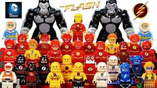 My LEGO The Flash DC Comics™ Super Heroes 2016 Minifigure Complete Collection