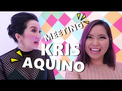 MEETING KRIS AQUINO!!! (Nov. 22, 2017) - saytioco