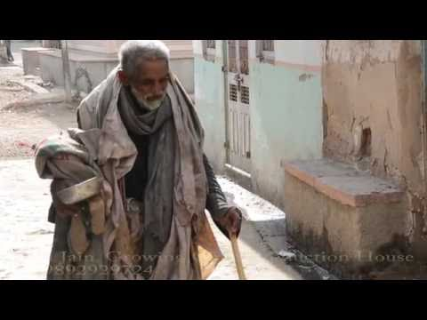 Homeless Poor Old Age Indian Man living Miserable Life in Junjani,Bhinmal,Rajasthan,India thumbnail