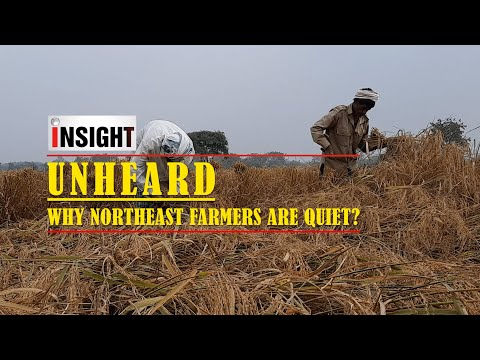 Why are farmers in Northeast India not protesting against the farm laws?