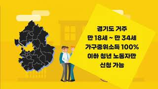 2021년 경기도 청년 노동자 통장 신규모집 신청 안내