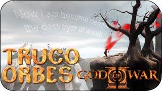 God of War 2 Truco Orbes Rojos y Mensaje Secreto