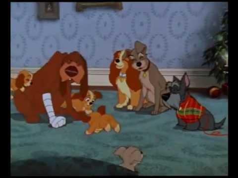 Lilli E Il Vagabondo Scena Finale Natale Con Tutta La Famiglia