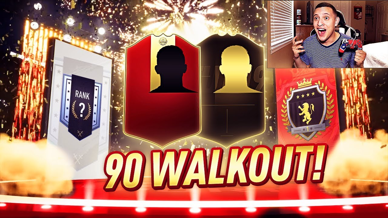 OMG A 90 WALKOUT!!! ELITE 1 FUT CHAMPS & DIVISION 1 RIVALS REWARDS!! | FIFA 19 ULTIMATE TEAM