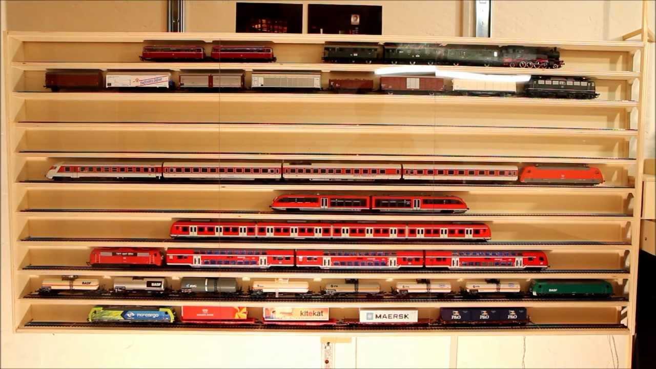 modelleisenbahn vitrine