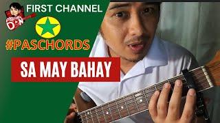 Baixar Sa May Bahay Namamasko - Guitar Chords tutorials - PasCHORDS Pasko Chords series