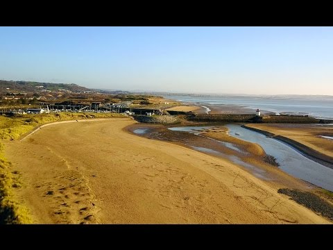 Burry Port Harbour & Pembrey Beach - DJI Mavic Pro (4K)