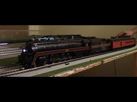 Broadway Limited Paragon 3 Norfolk and Western Class J #611