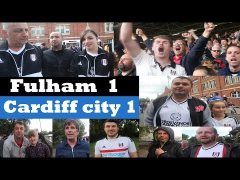 Fulham 1 Cardiff City 1 | We coped very well | Football Fan TV