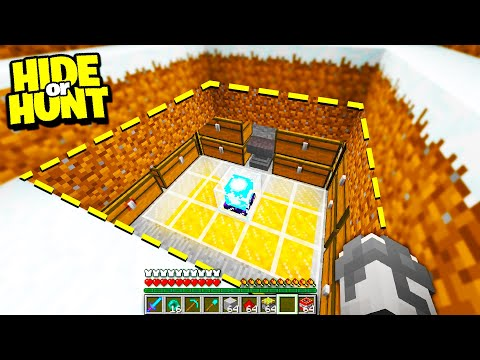 Finding A SECRET Minecraft Base On Top Of A HUGE Mountain! - Hide Or Hunt #6