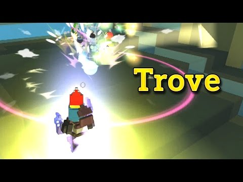 Trove - JET PACK CHAIR DREAM - Noob Gunslinger Gameplay with Karaoke Commentary