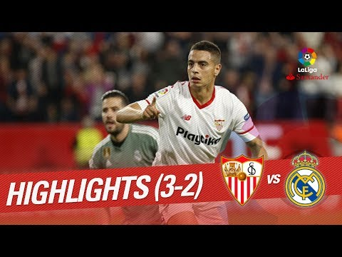 Resumen de Sevilla FC vs Real Madrid (3-2)